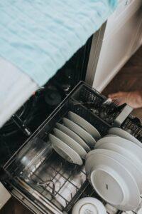dishwasher interior