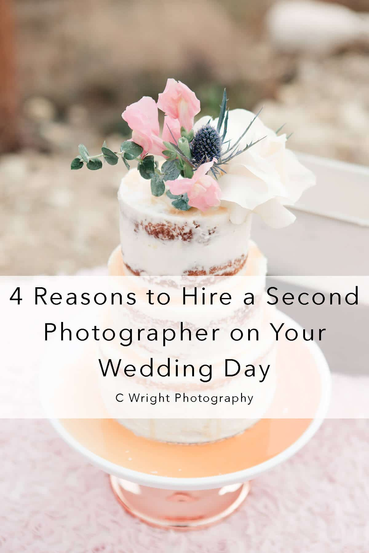 4 reasons to hire a second photographer on your wedding day