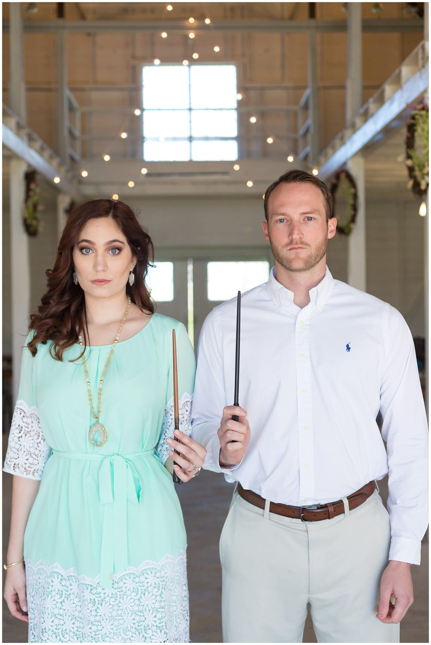 Harry Potter Styled Engagement Session | Swish and Click Photography