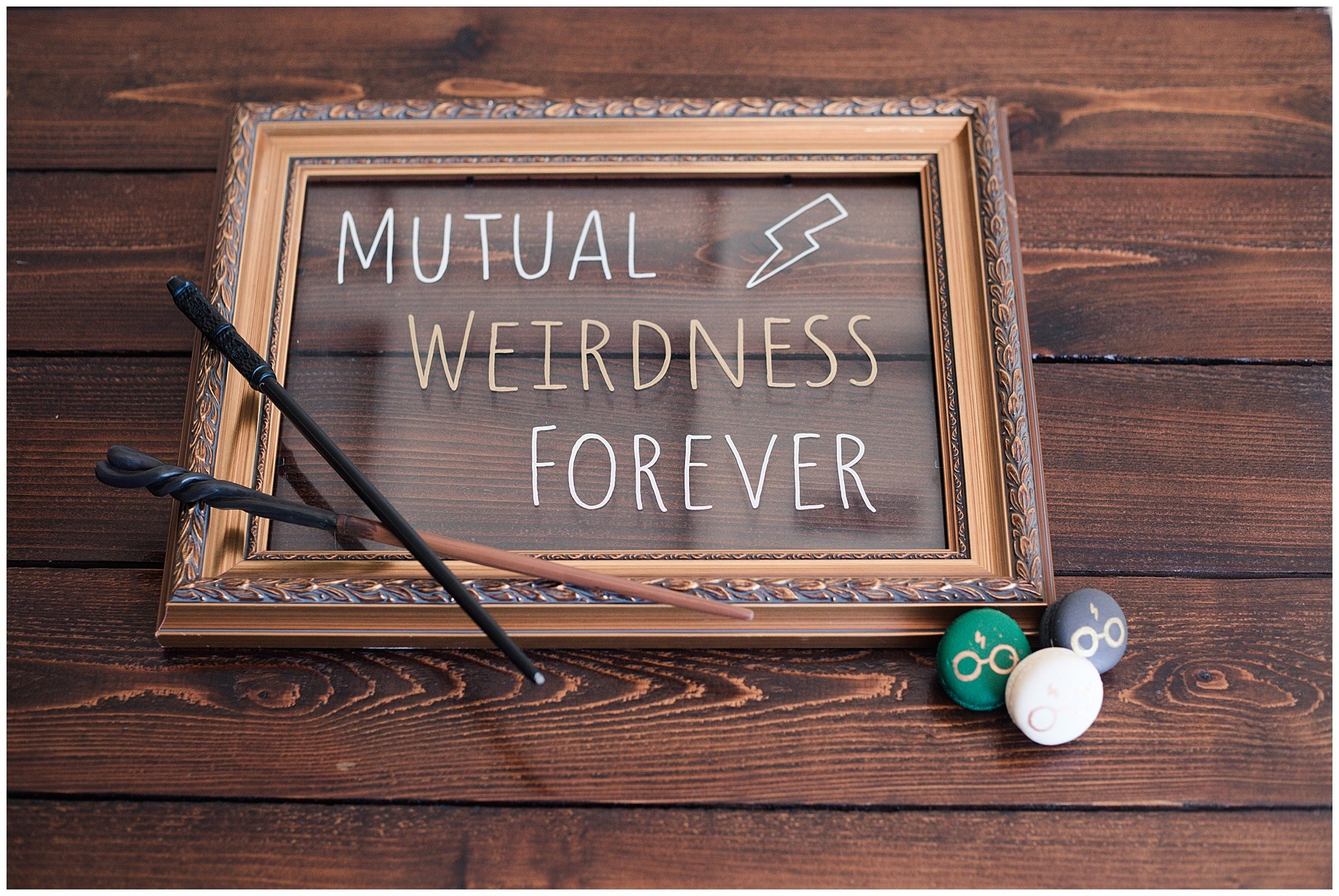 mutual weirdness sign at the Grand Texana in Houston Texas photographed by Swish and Click Photography