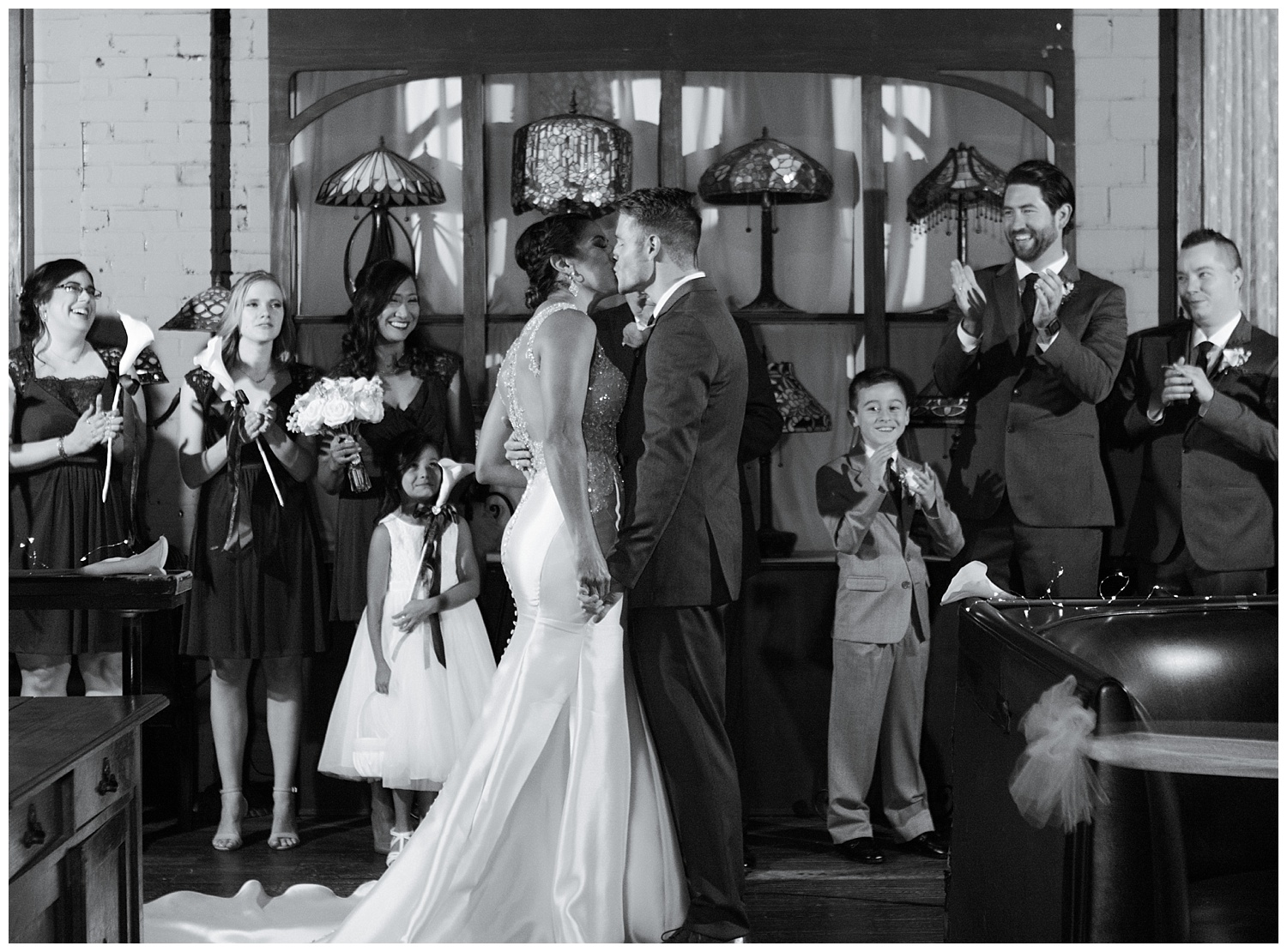 Texas Wedding Photographer | Sara & Matt: A Nouveau Antique Art Bar Wedding