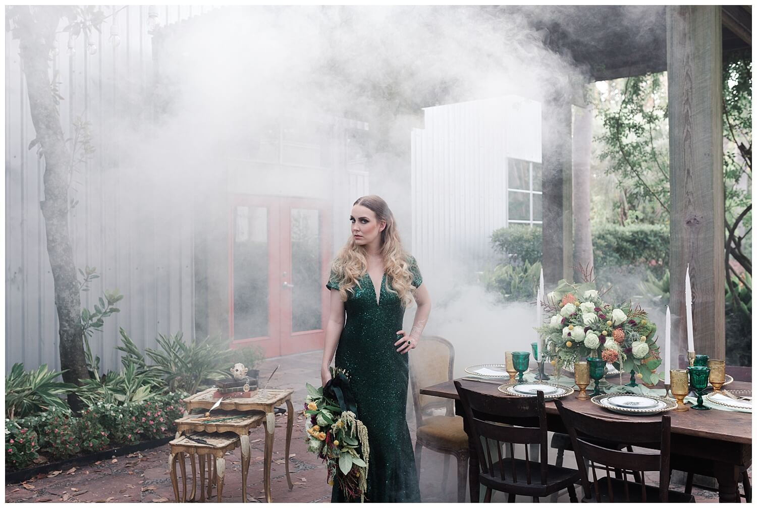 Harry Potter Wedding: Slytherin Inspired Wedding