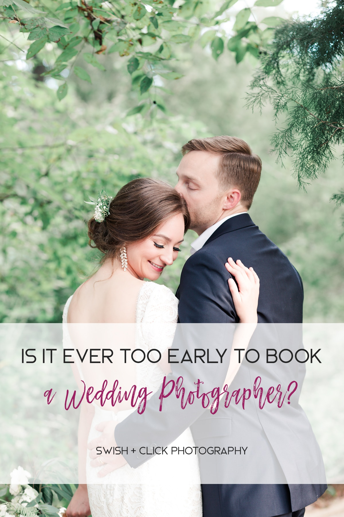 Is It Ever too Early to Book a Wedding Photographer?