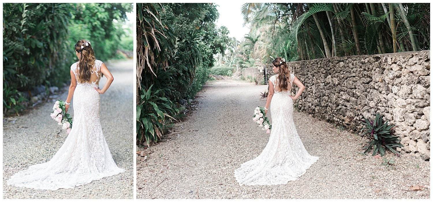 bride wedding portraits at Villa Cocomar in the Dominican Republic by Swish and Click Photographer