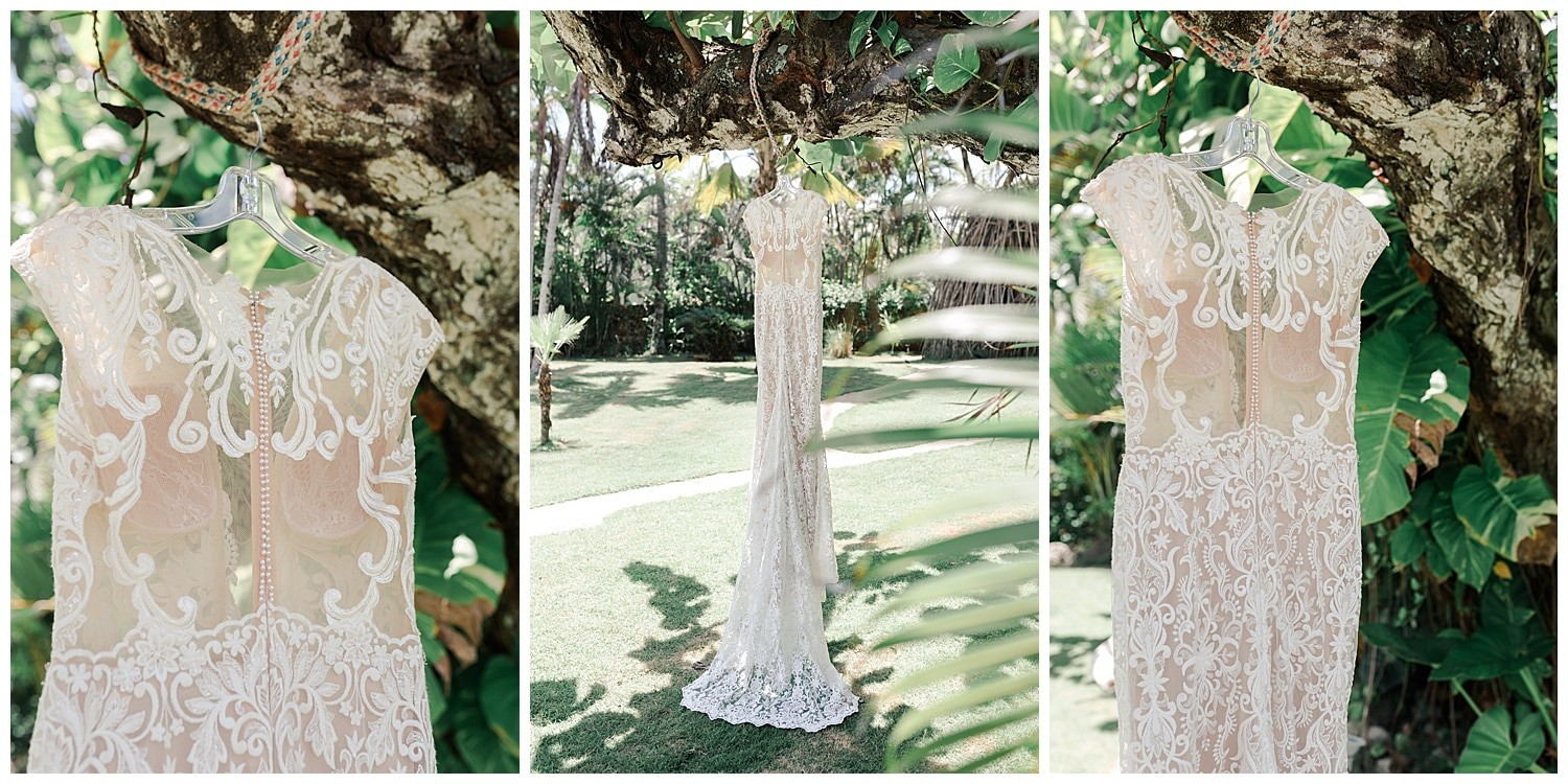 wedding day details at Villa Cocomar in the Dominican Republic by Swish and Click Photographer
