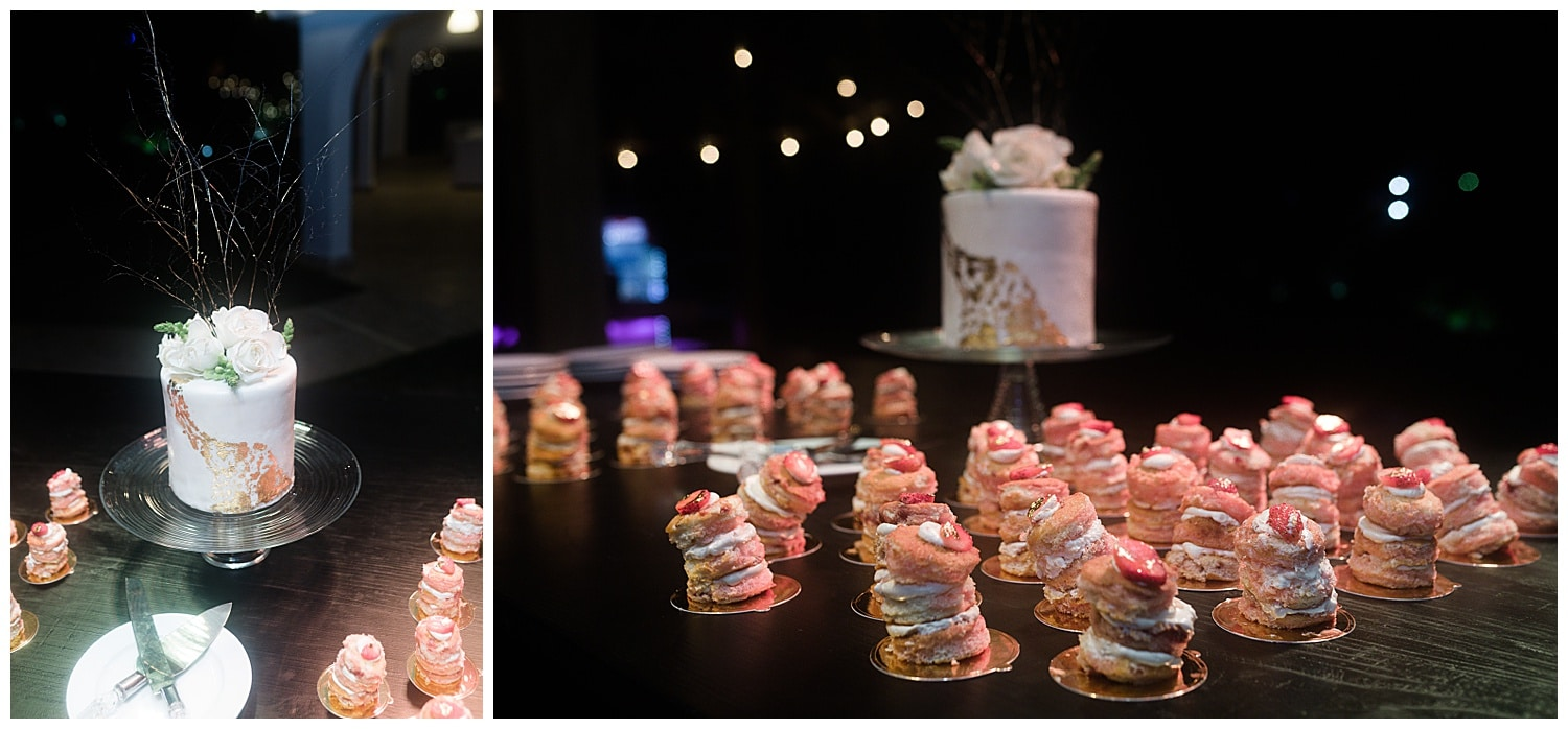 wedding reception details at Villa Cocomar in the Dominican Republic by Swish and Click Photographer