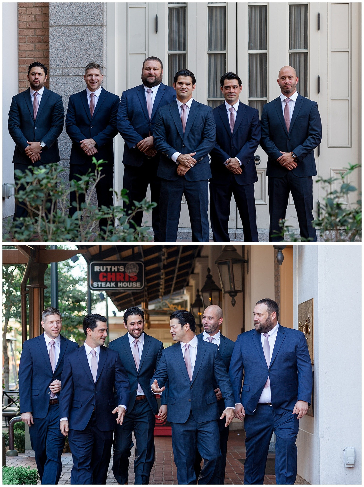 groom getting ready at Thomas Bistro in New Orleans by Swish and Click Photography