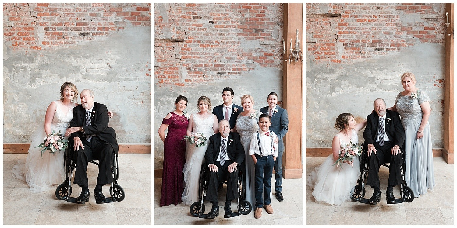 family portraits at Thomas Bistro in New Orleans by Swish and Click Photography