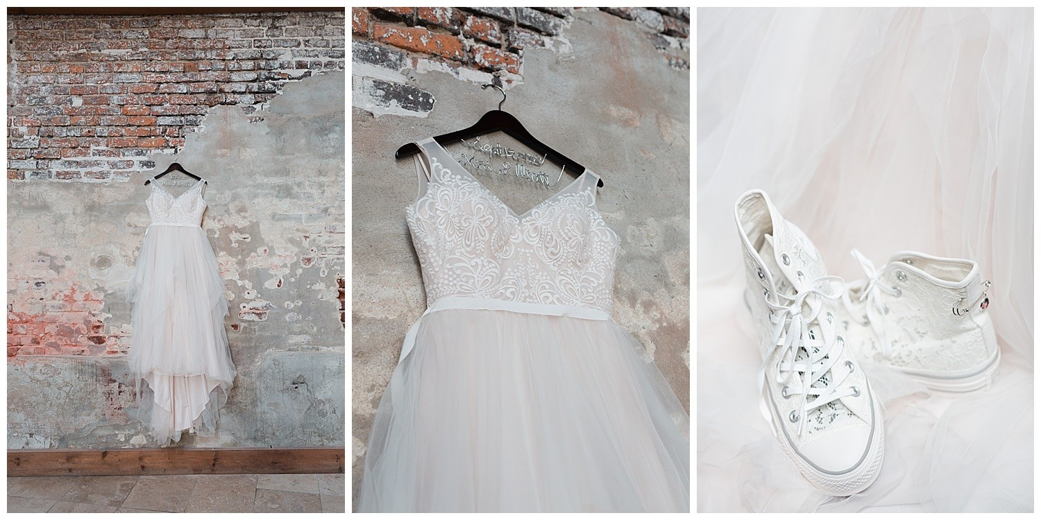 wedding details at Thomas Bistro in New Orleans by Swish and Click Photography