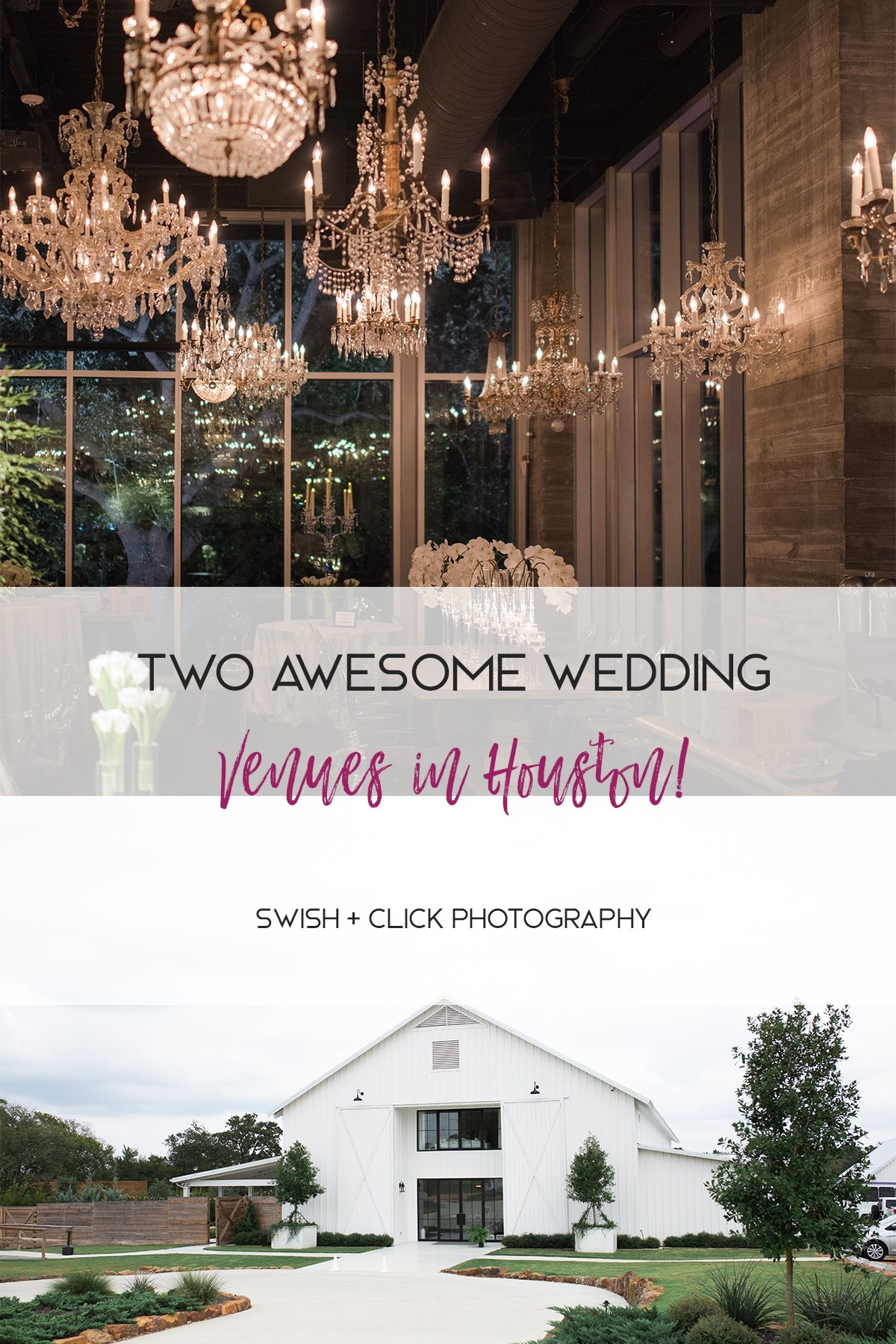 two awesome Houston Wedding venues