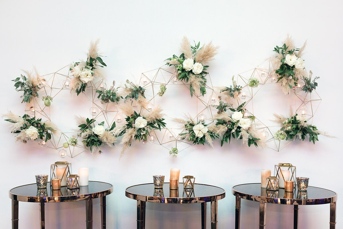 wedding flowers at the Houston Event Rental in Houston Texas by Swish and Click Photography