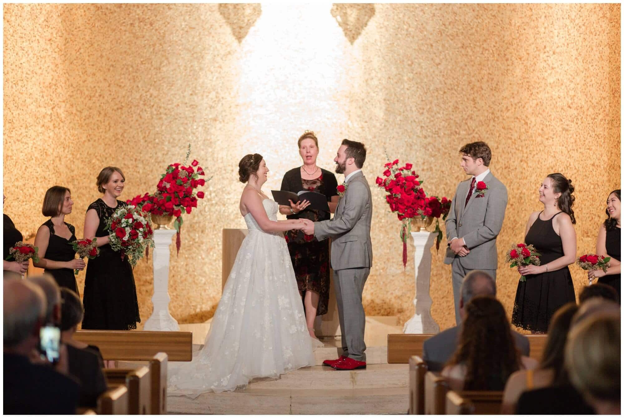 wedding ceremony at Rice University in Houston Texas by Swish and Click Photography