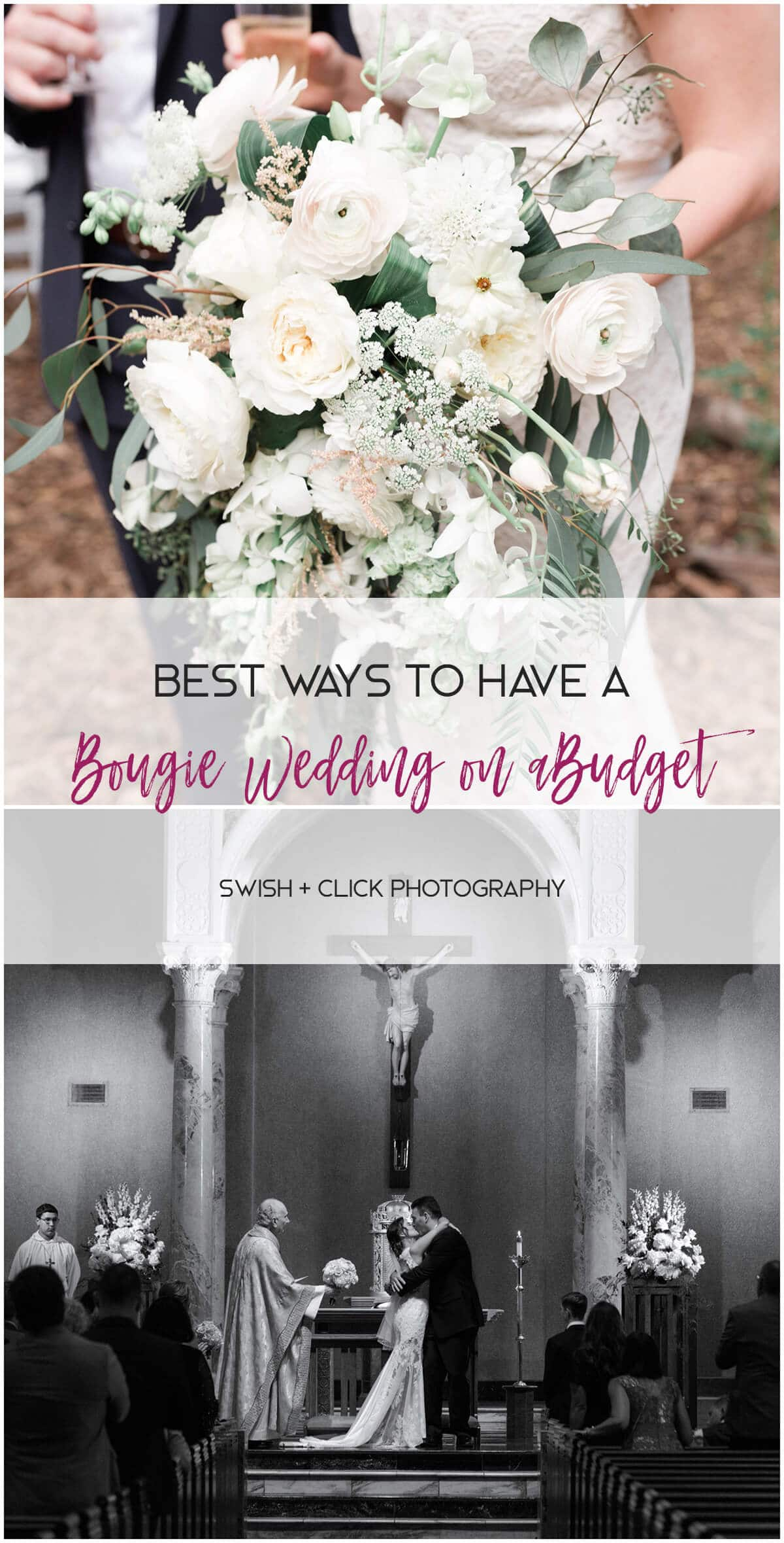 Bougie wedding flowers at Houston arboretum in Houston Texas by Swish and Click Photography