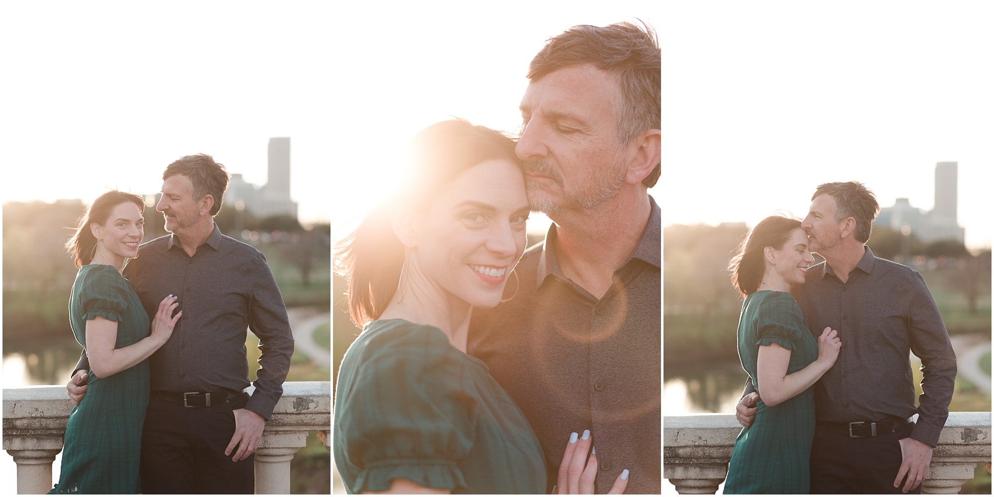 Dreamy Houston Engagement Session | Megan + Amedeo