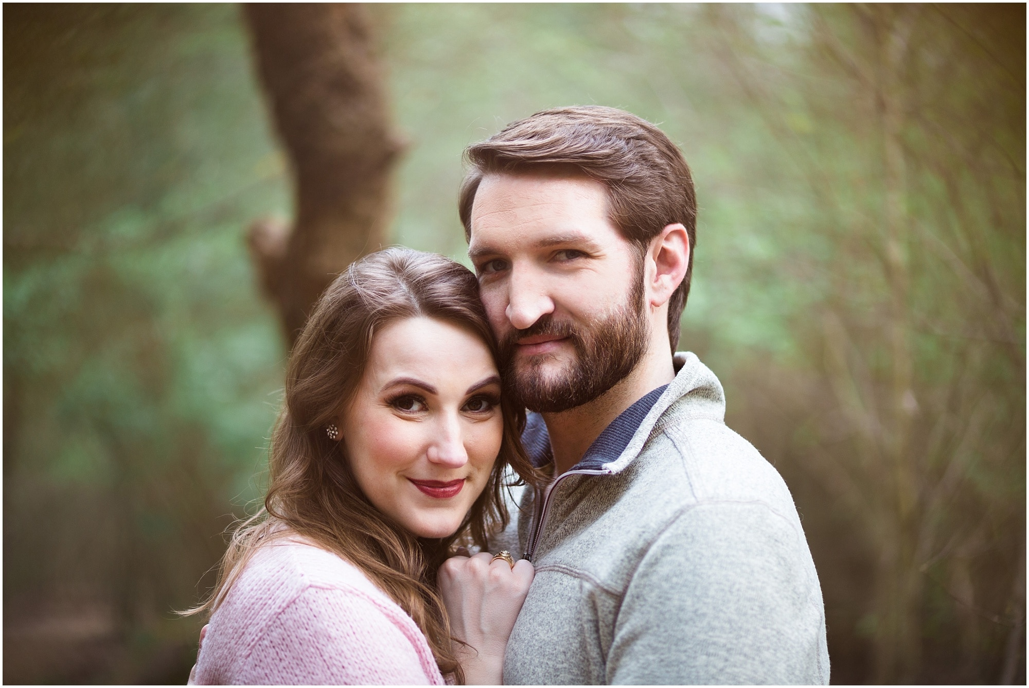Fun, Romantic Houston Engagement Session | Aubrey + Sean