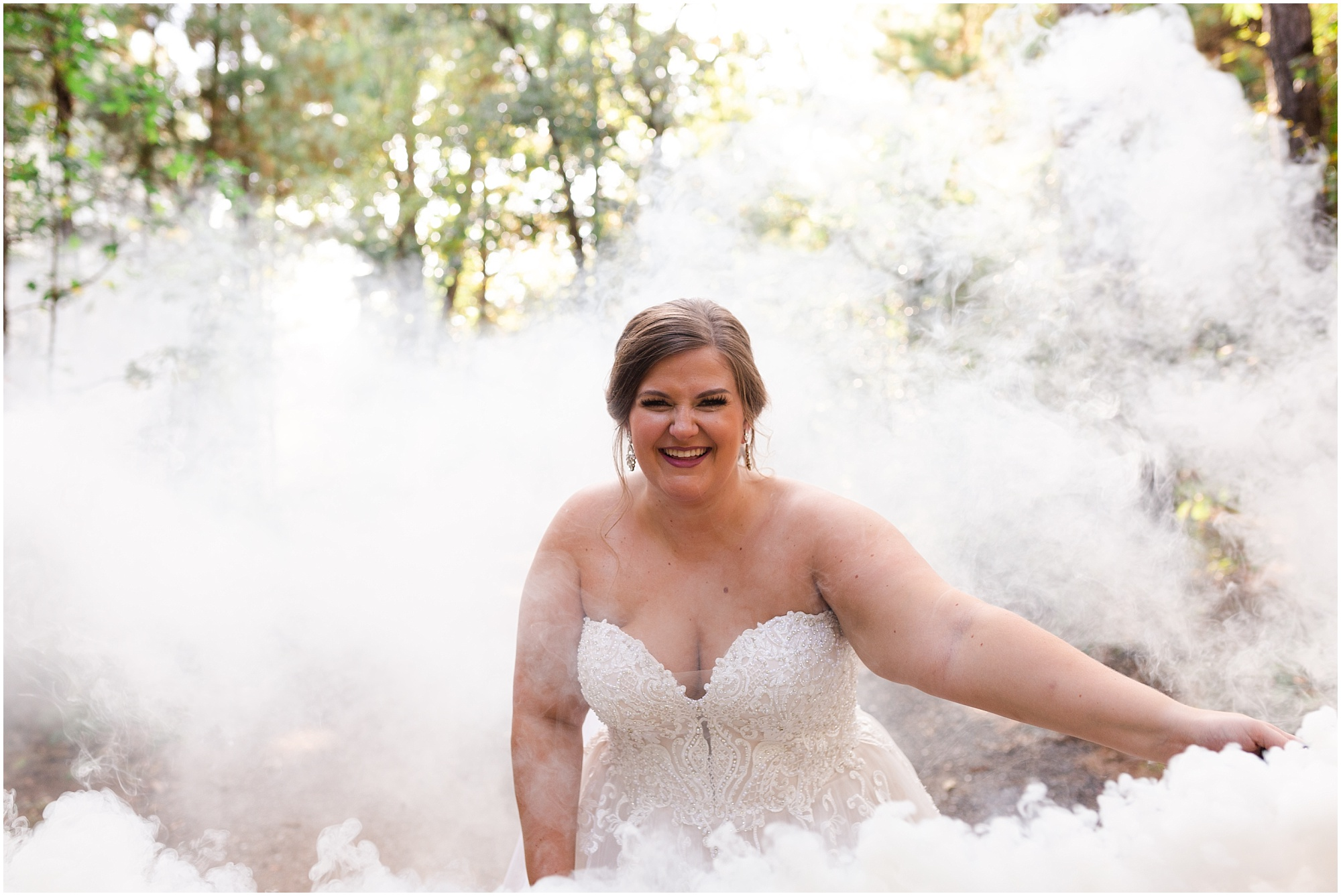 Smokey Bridal Session in Houston
