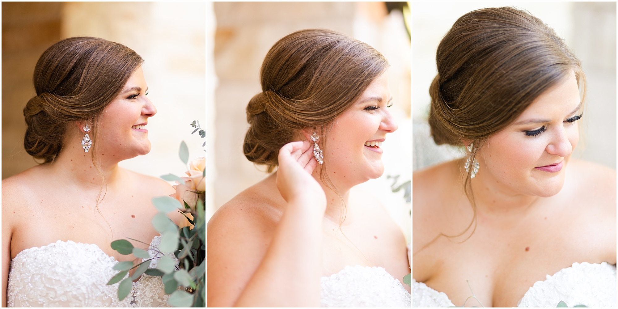 beautiful Pearland bride