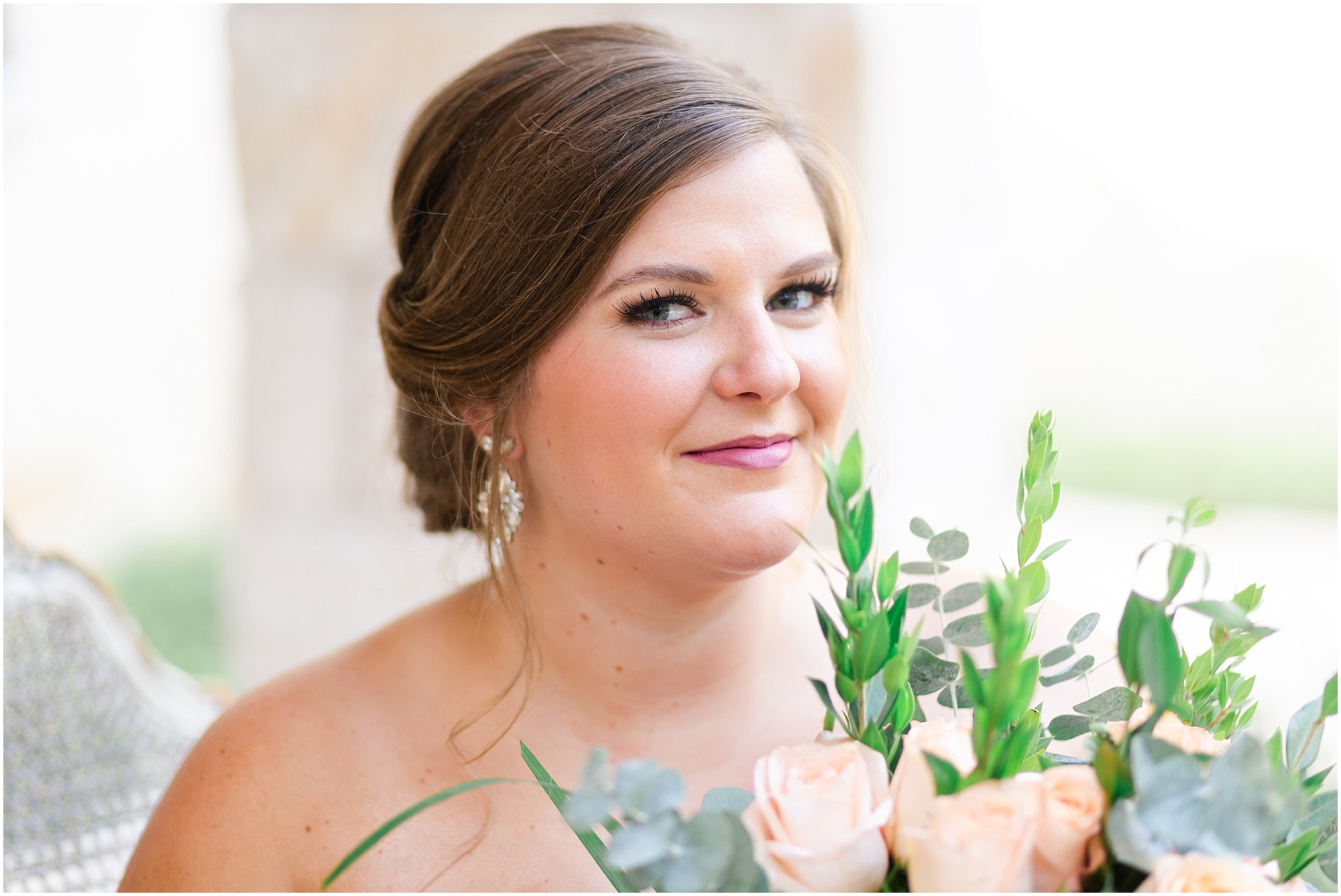 beautiful Houston bride