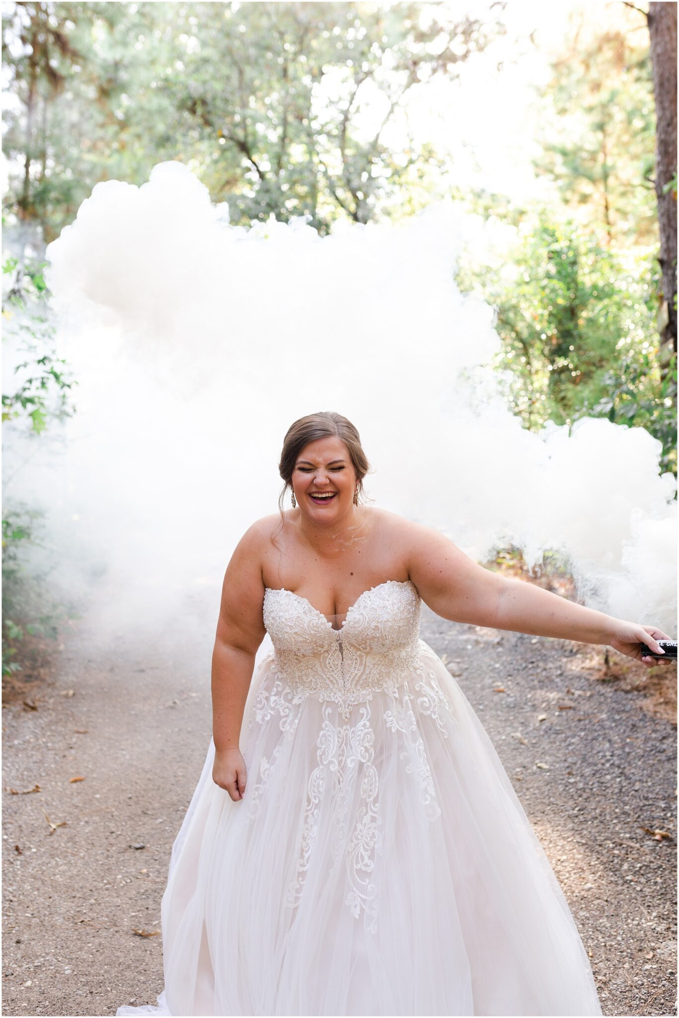smokin bridal session