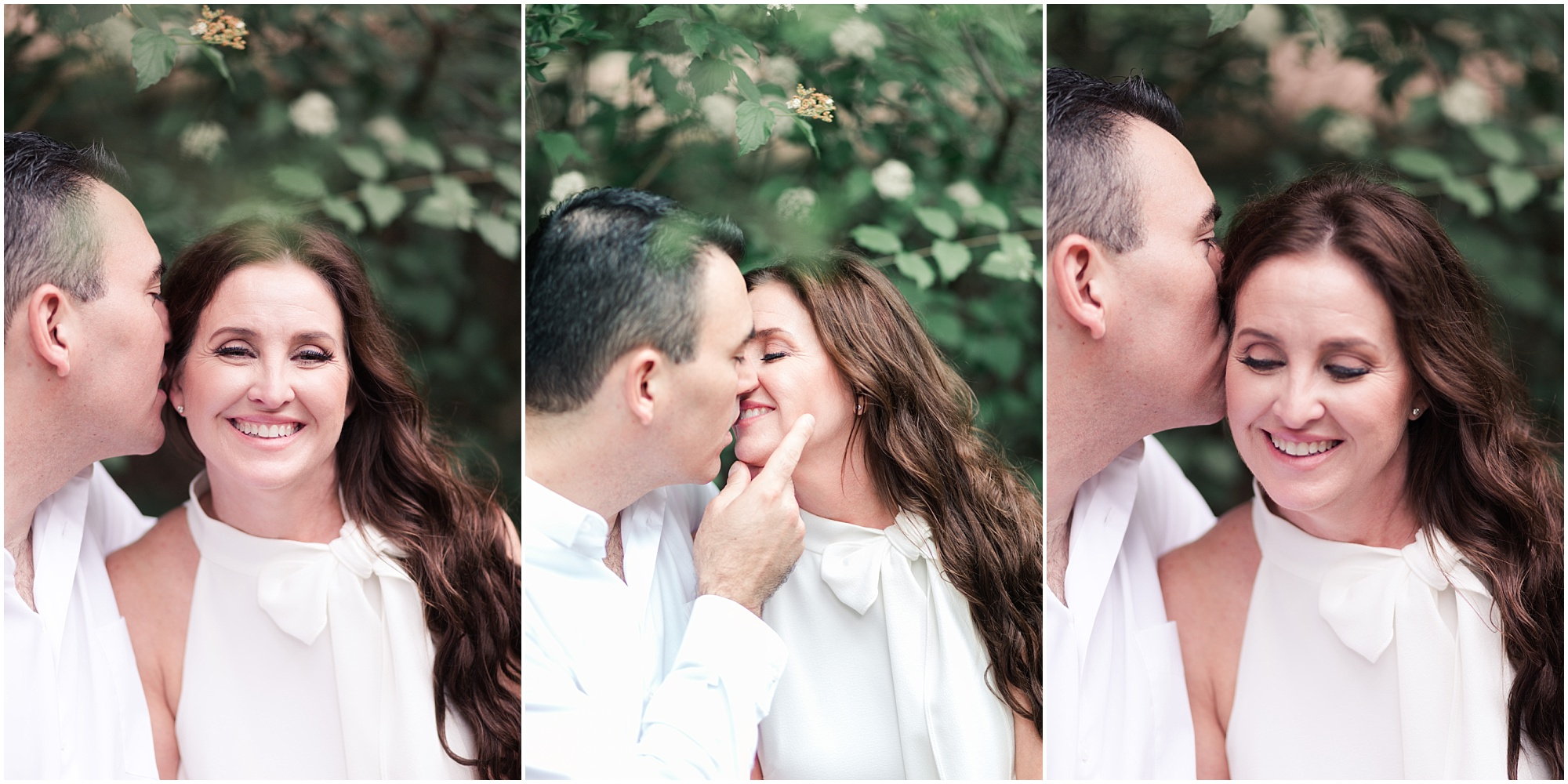 elegant engagement session at Houston Arboretum in Houston, Texas photographed by Swish and Click Photography