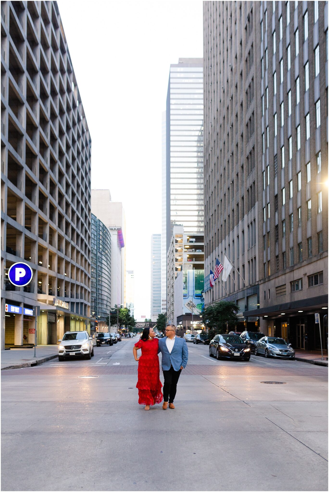 downtown Houston engagements