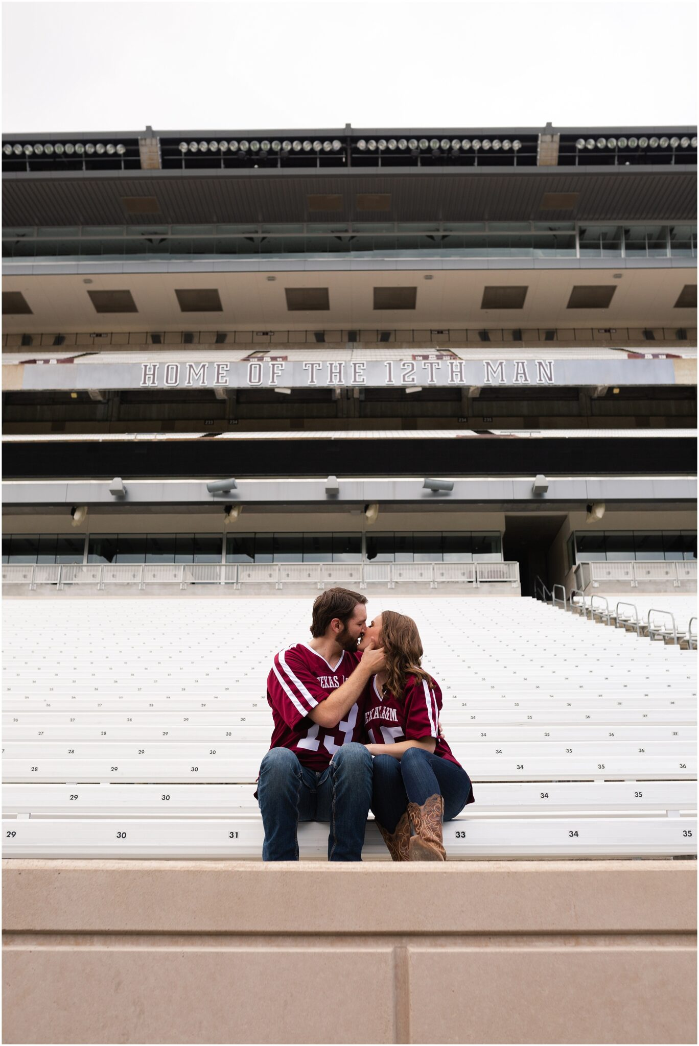 Kyle Field engagement session