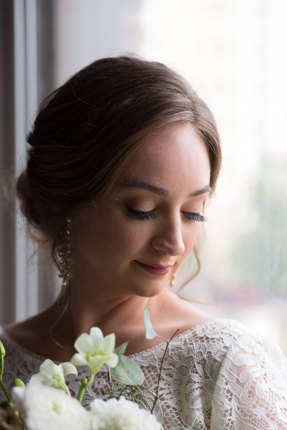 Two talented hair and makeup artists in Houston Swish and Click Photography Houston wedding photographer