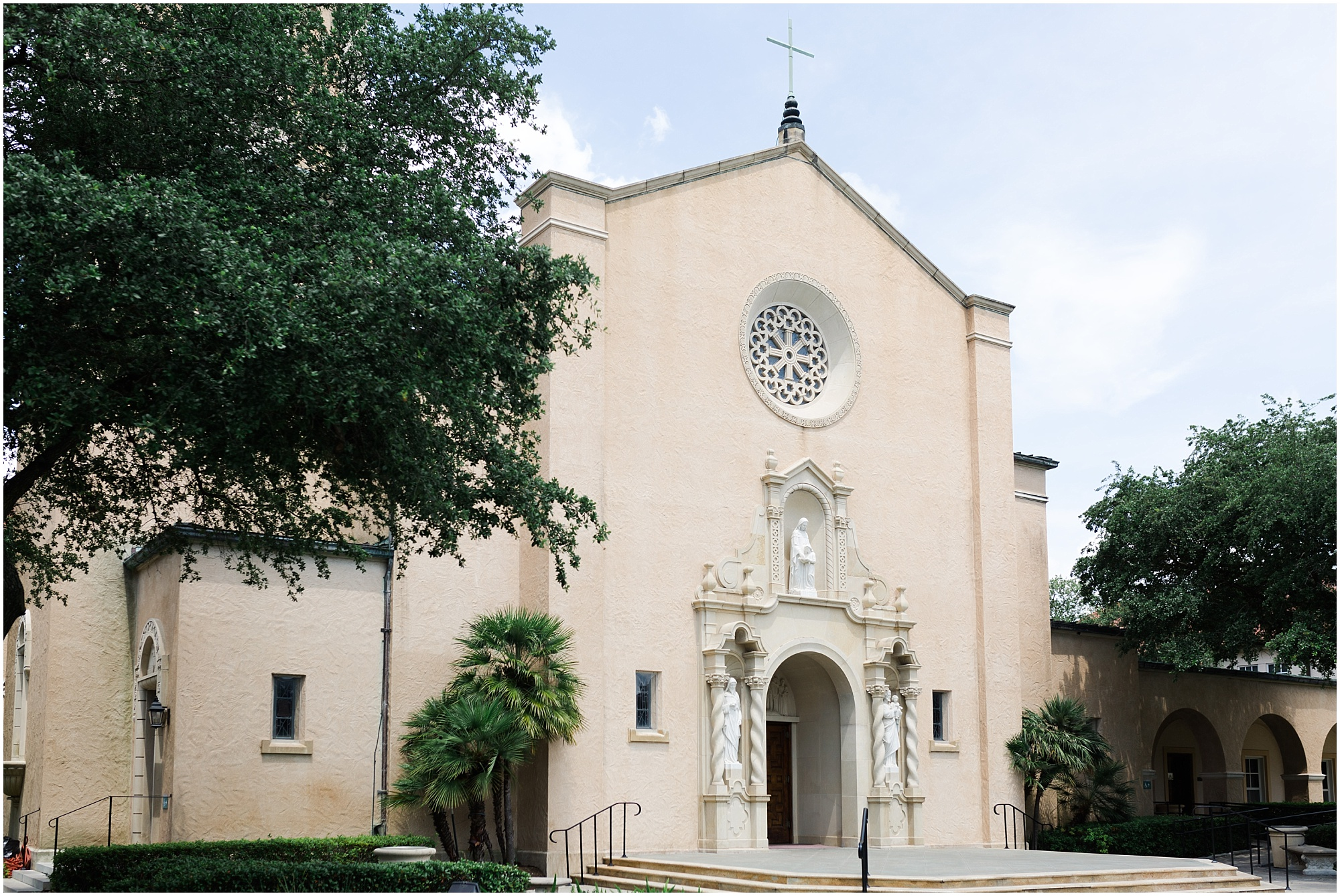 St Anne Catholic Church Houston wedding