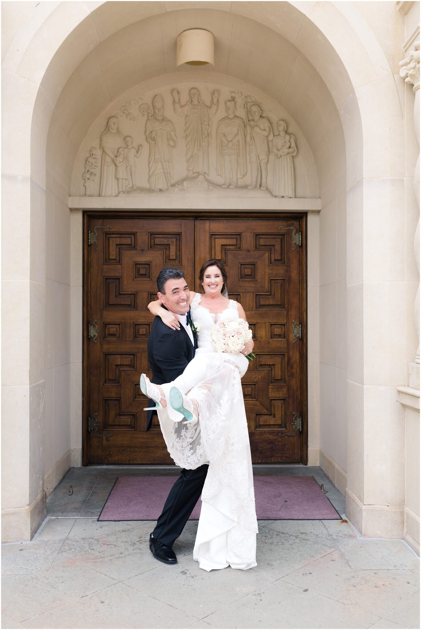 andrea and robert just married houston wedding photographer