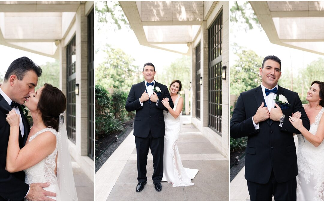 White + Dusty Blue Wedding at the St Regis Houston | Andrea + Robert