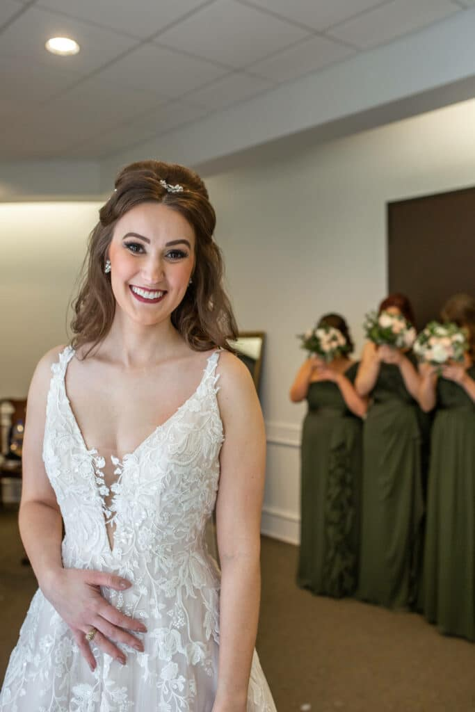 bridal first look