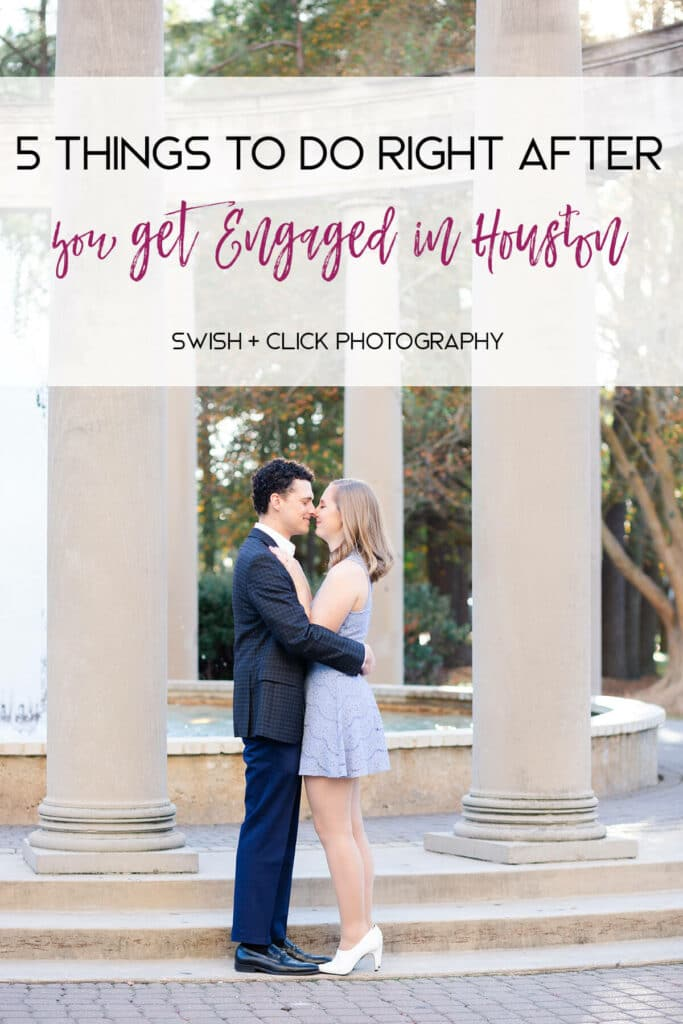 romantic Houston engagement session photographed at Hotel Zaza by wedding photographer Swish and Click Photography