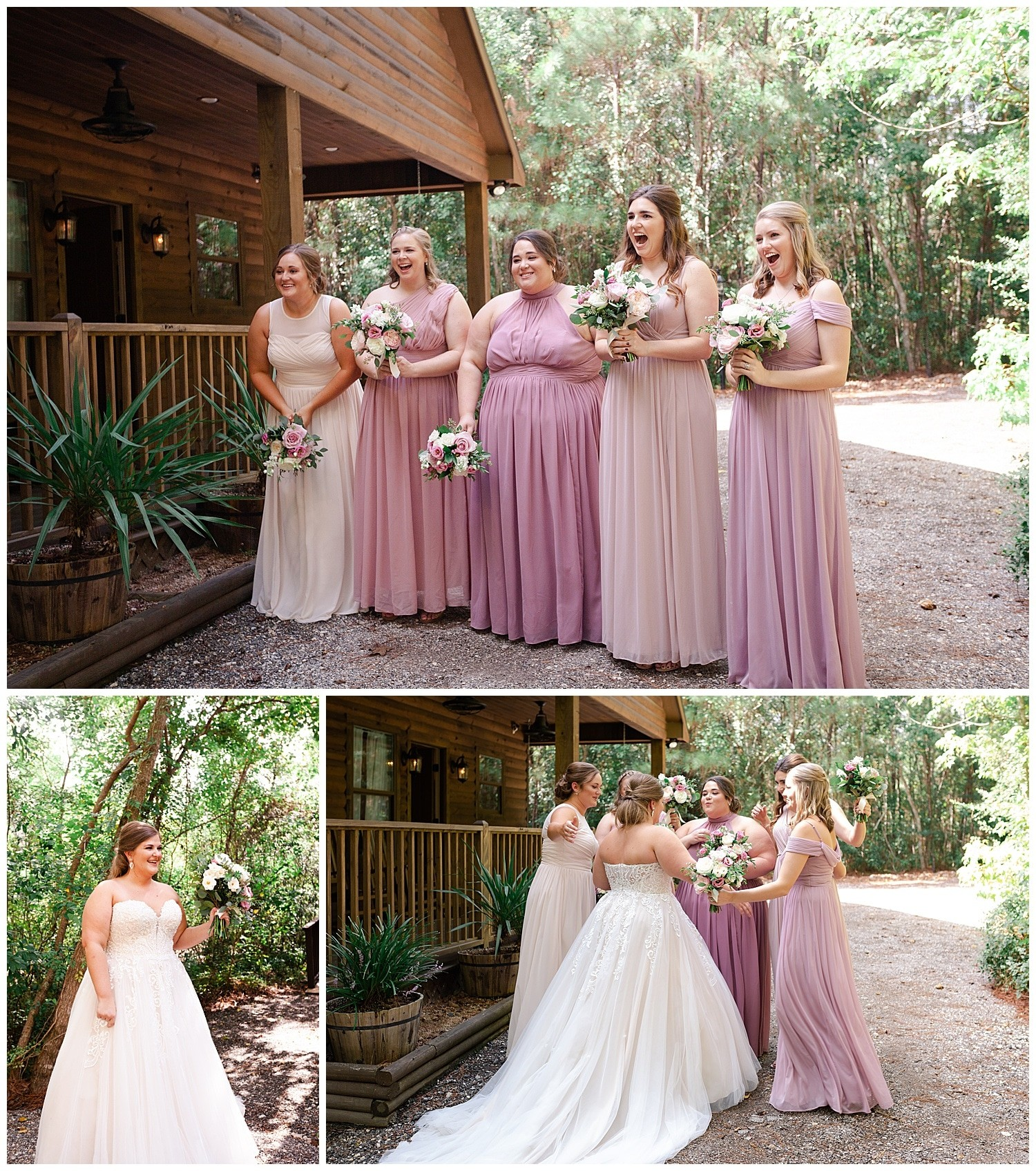 Romantic Magnolia Bells Houston wedding captured by Houston wedding photographer Swish and Click Photography