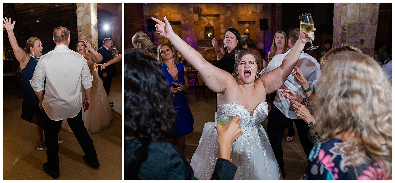 romantic wedding at Magnolia Bells in Magnolia, Texas photographed by Swish and Click Photography