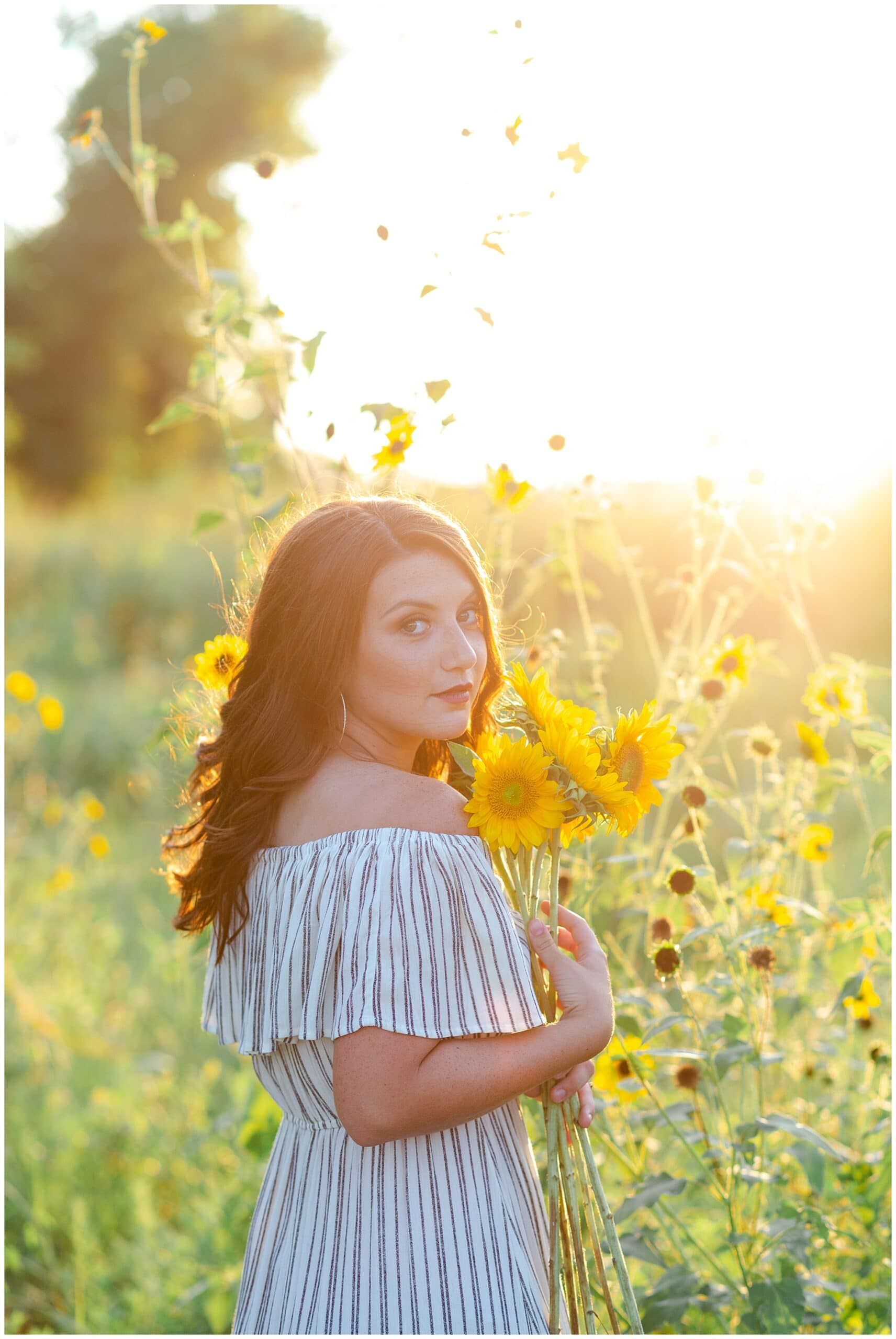 Charming Houston High School Senior Session | Paige