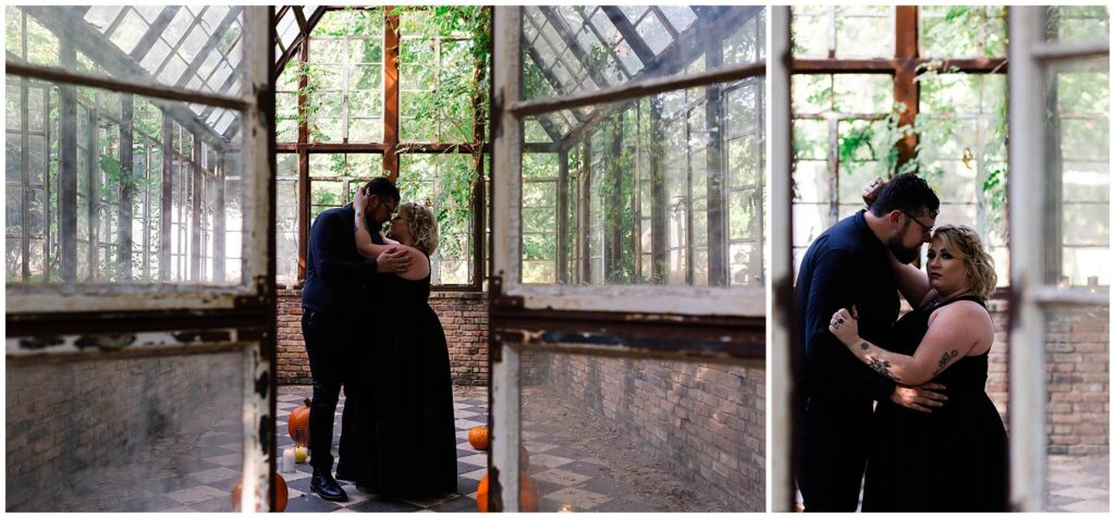 Sekrit Theater Engagement Session by Houston Photographer Swish and Click Photography