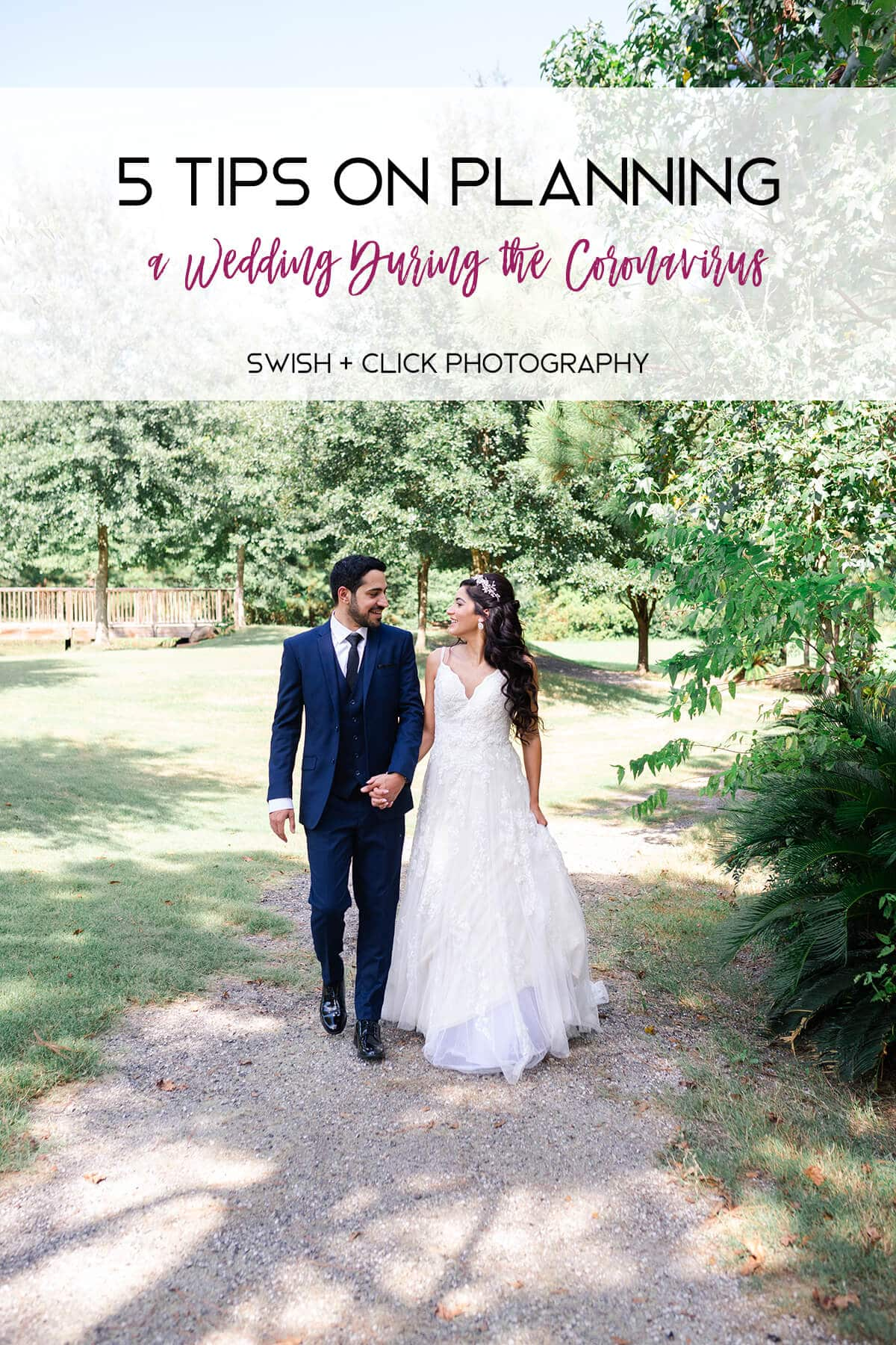 5 Tips on Planning a Wedding During the Coronavirus