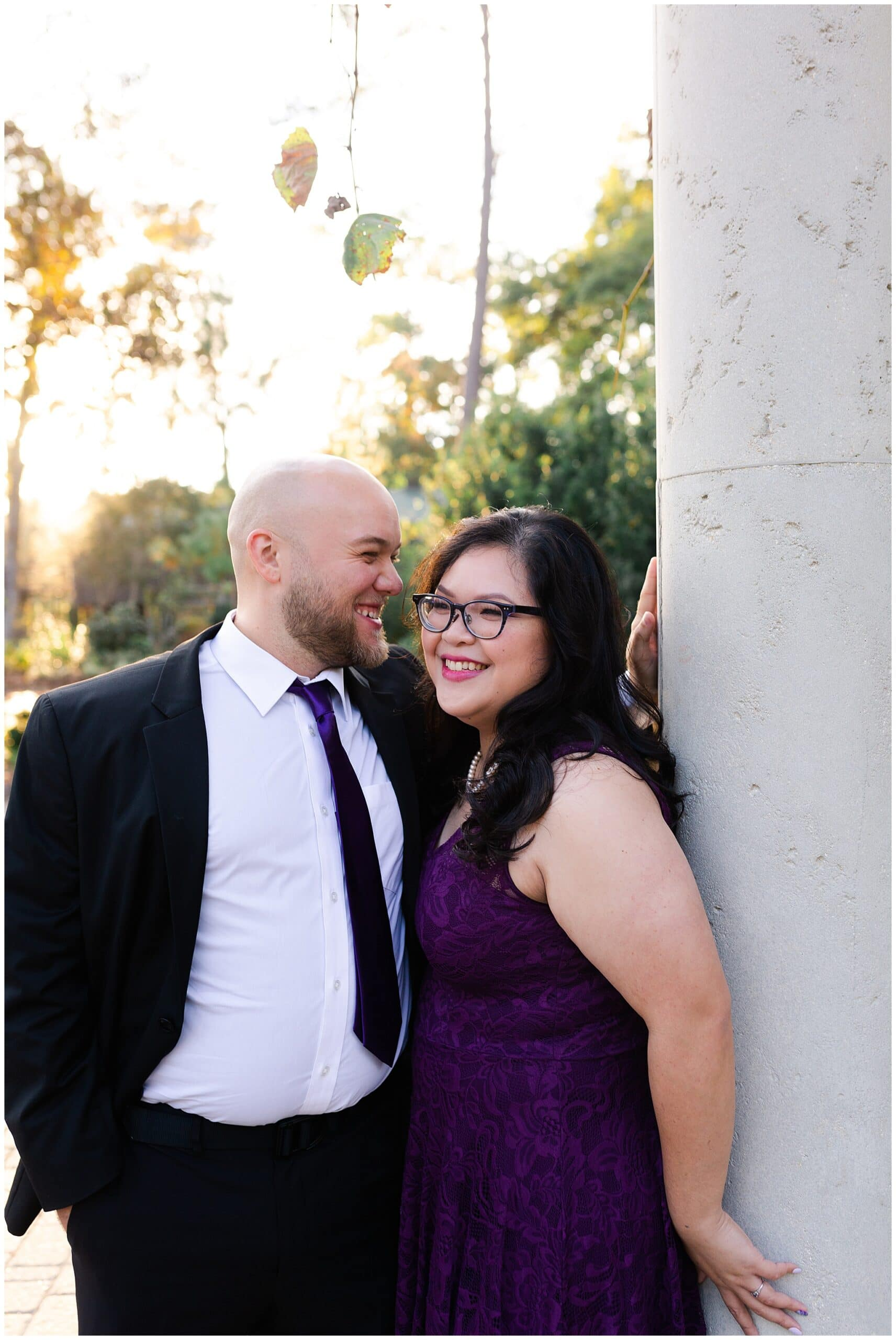 Adorable Engagement Session at Mercer Botanic Gardens | Grace + Chase