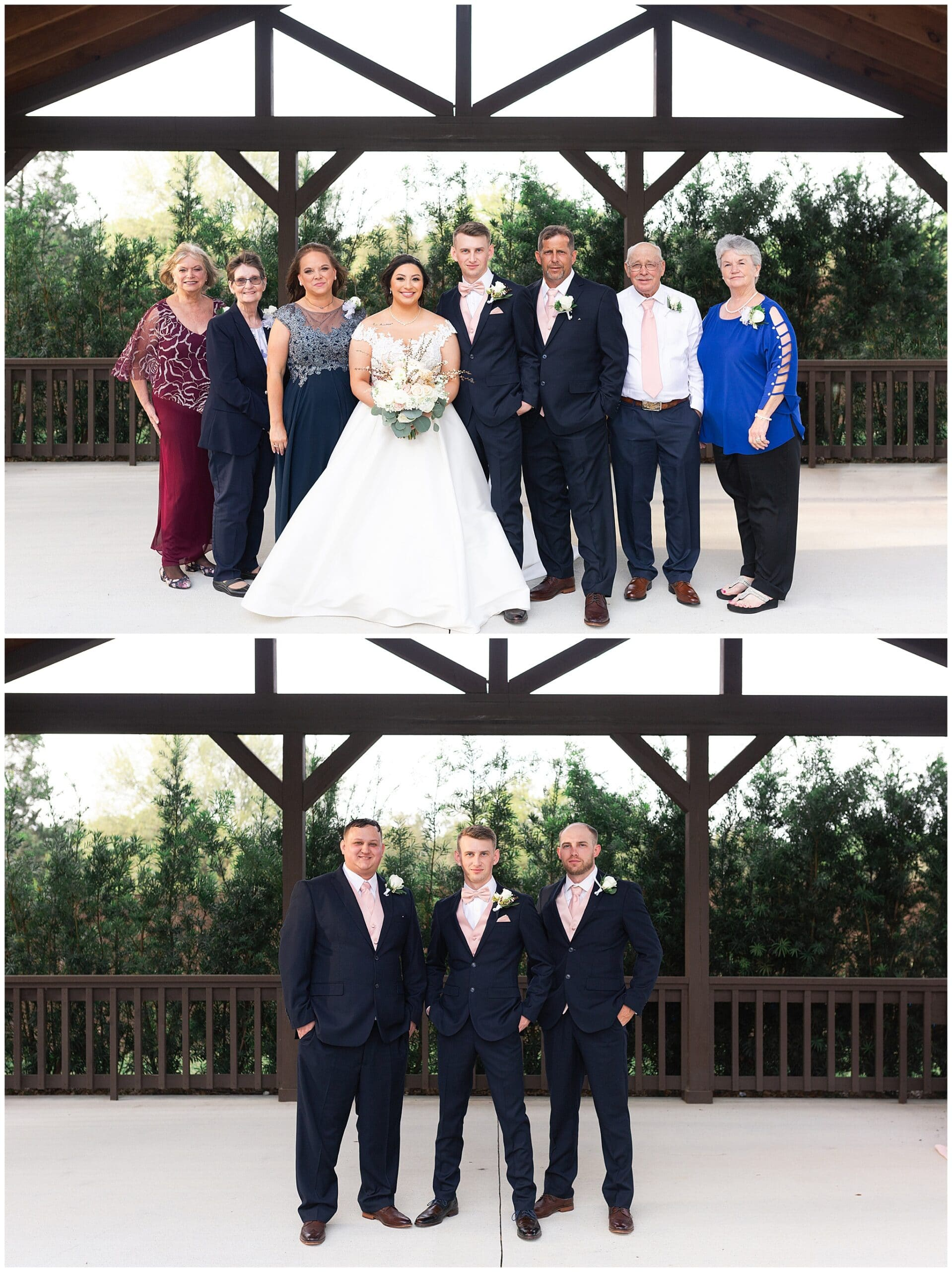 family invitations at Bridal Oaks in Cypress Texas by Houston wedding photographer Swish and Click Photography