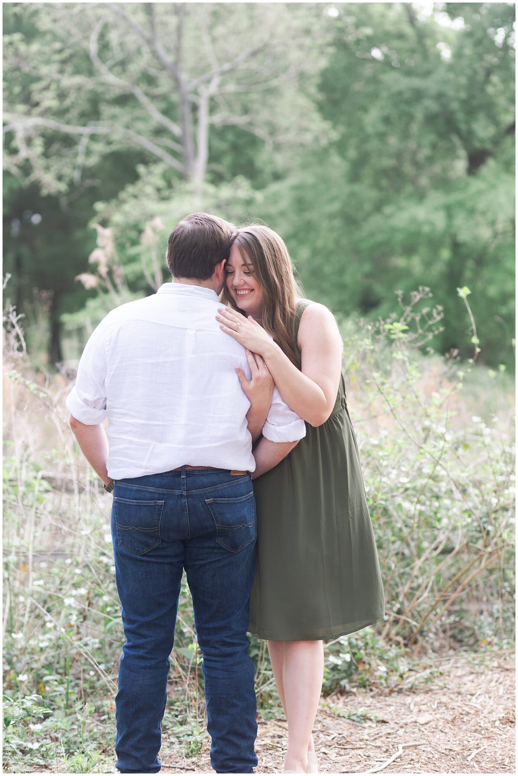 Houston Arboretum and Nature Center Engagement Session with Jaquelyn and Justin