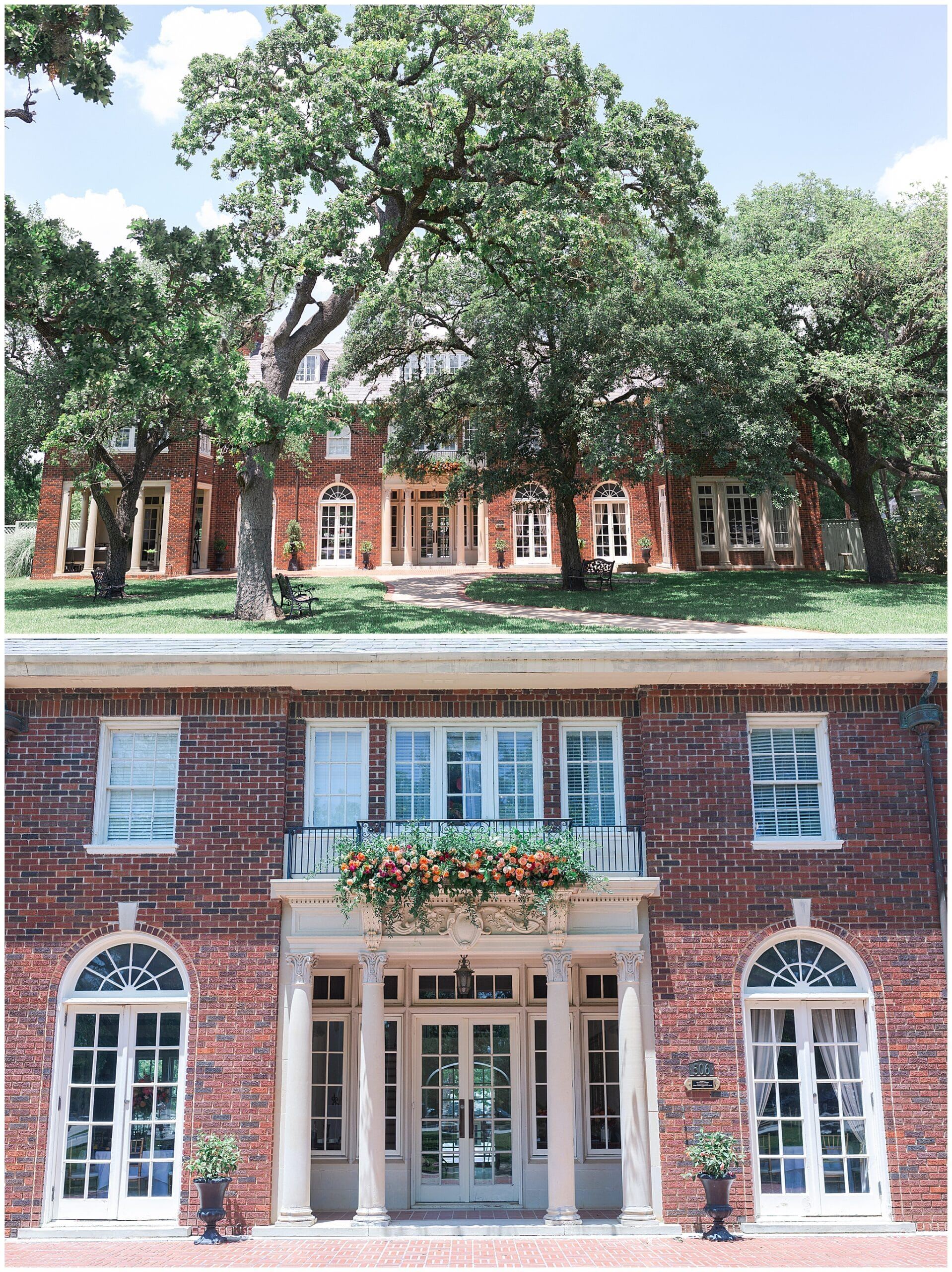 Astin Mansion wedding venue exterior by Swish and Click Photography