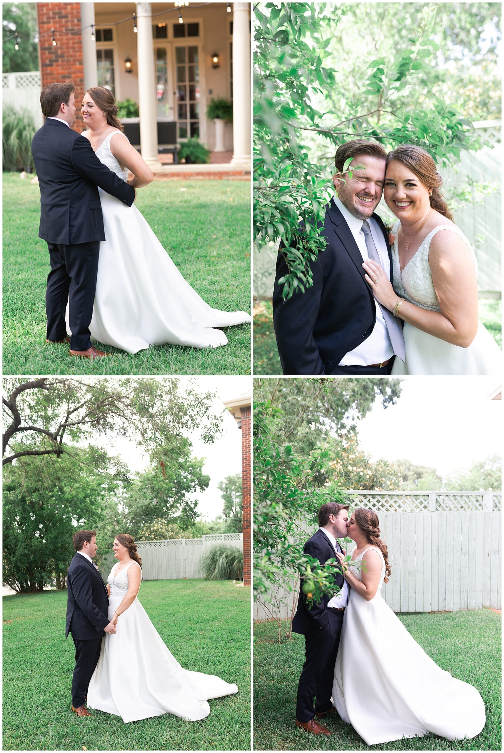 bride and groom porraits at Astin Mansion in Bryan Texas by Swish and Click Photography