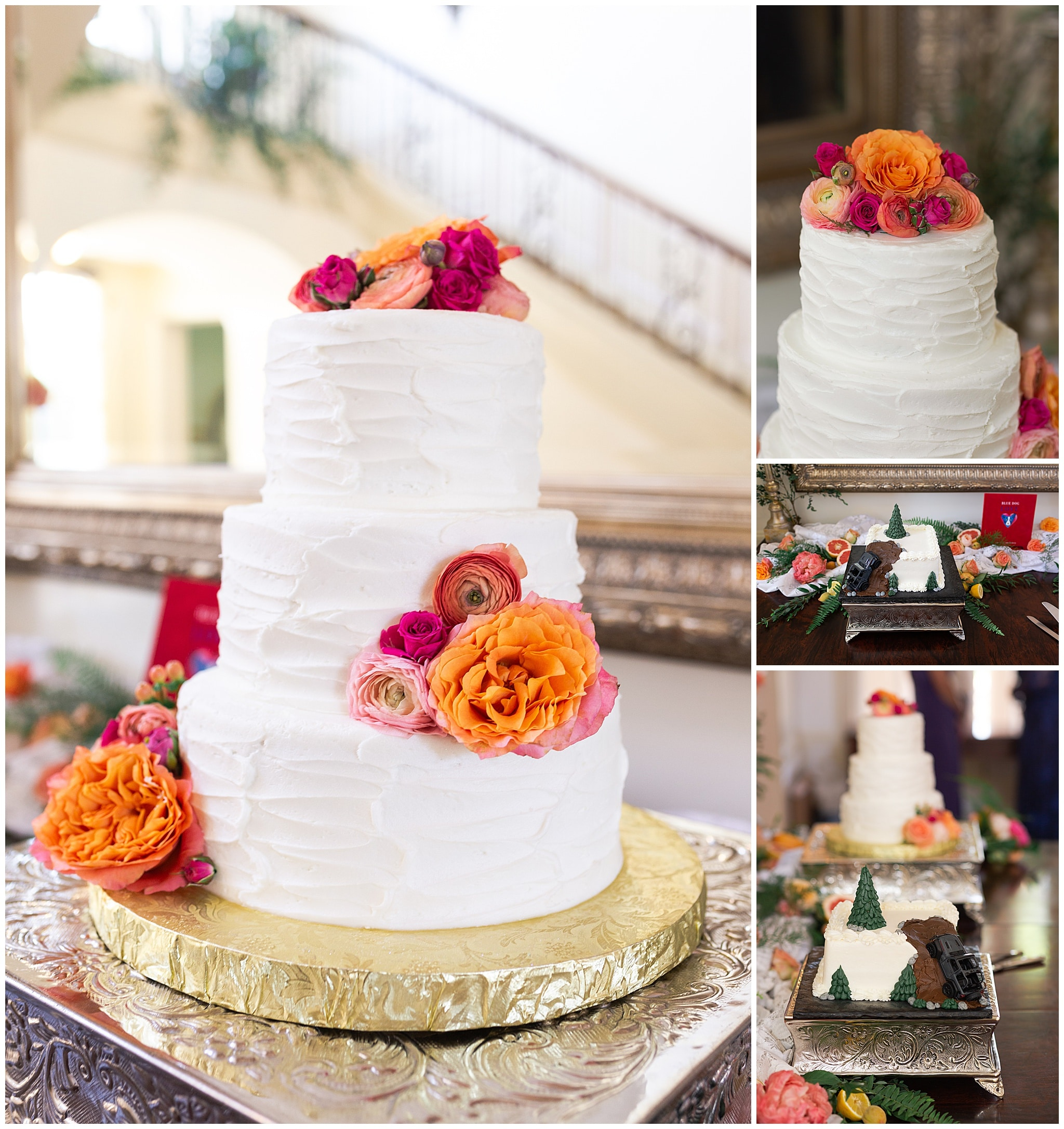wedding cake at Astin Mansion in Bryan Texas by Swish and Click Photography