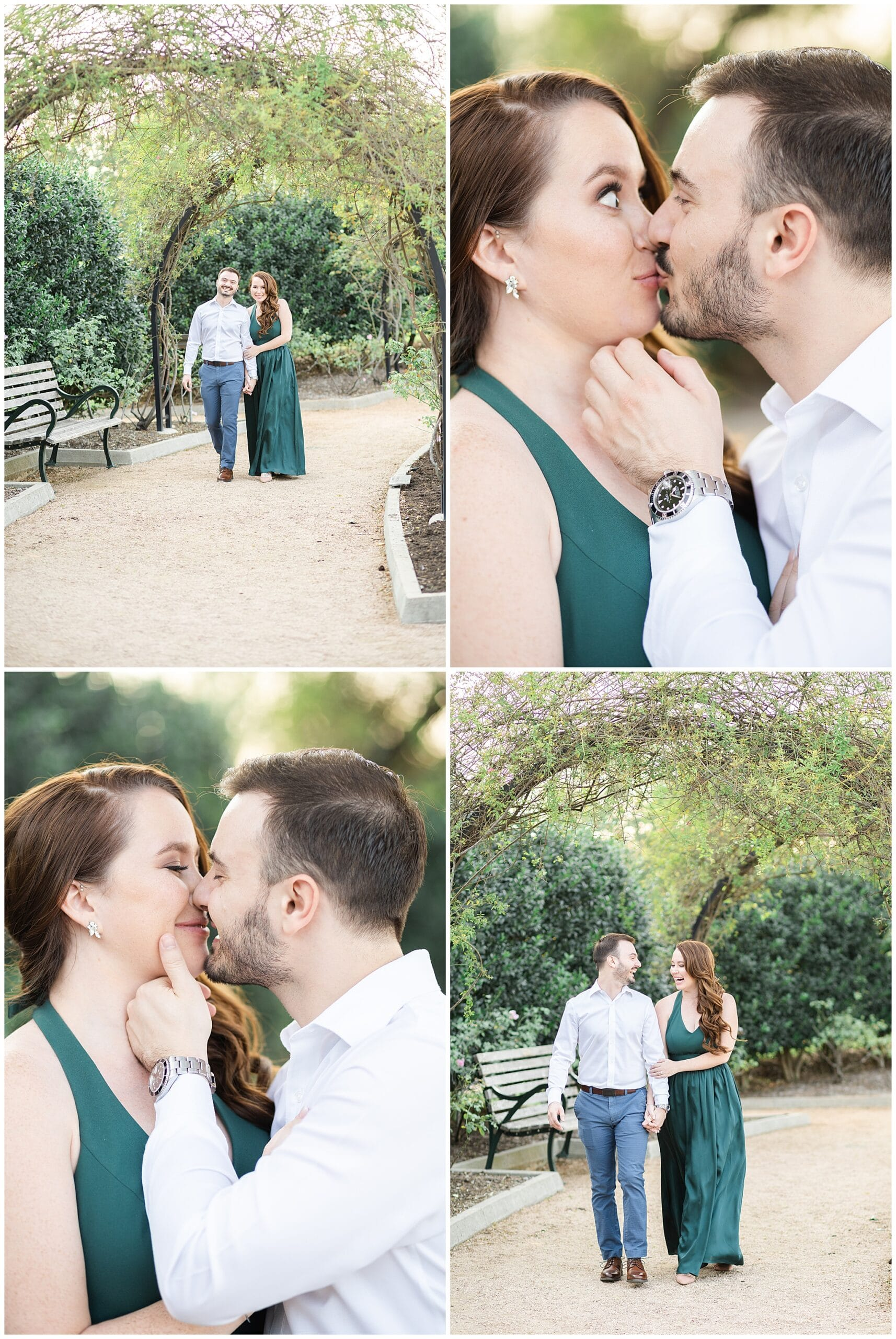 Houston engagement session captured by Swish and Click Photography with a couple that's cuddling