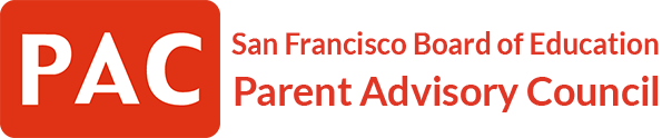 San Francisco Board of Education Parent Advisory Council