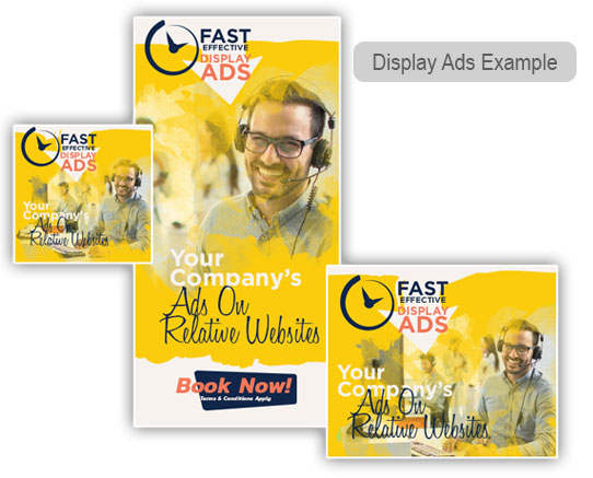 Google Display Ad Examples from Google Ads - formerly Google Adwords