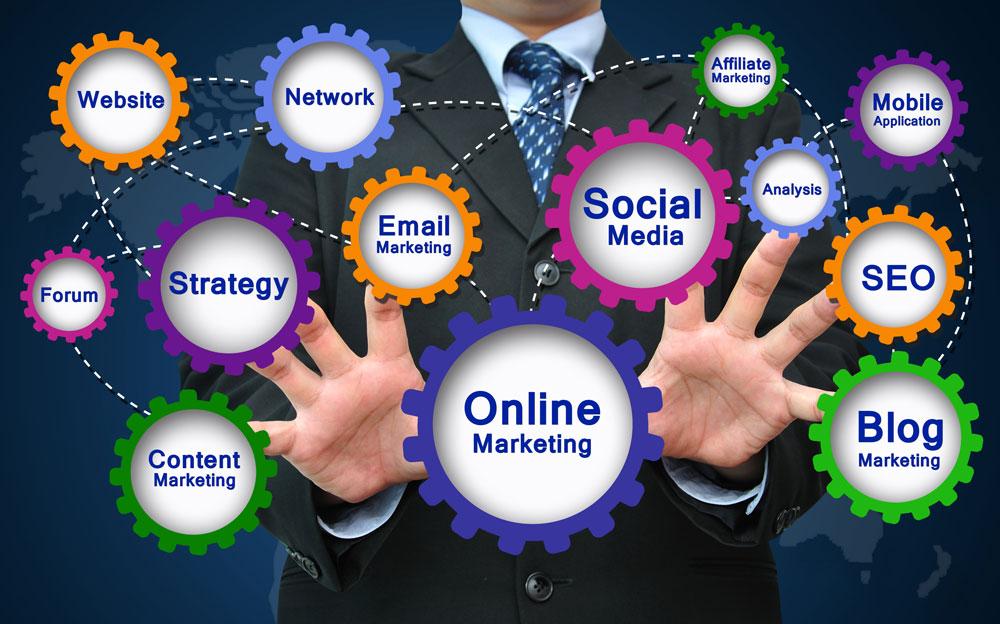 Online Marketing, SEO, PPC, Email Marketing, Social Media
