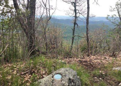 Avery Creek Valley from Green Knob on the MTS