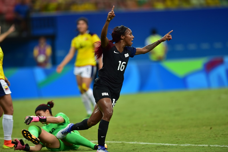 Crystal Dunn, United States Women's Soccer Team, 2016 Summer Olympics