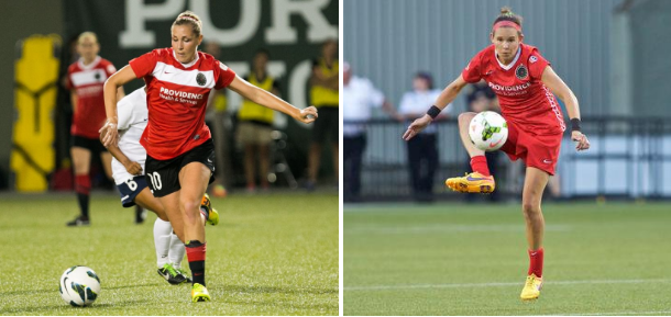 NWSL, Allie Long, Emily Menges